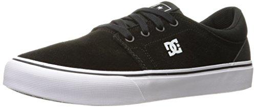 DC Shoes Men's Trase S Skate Low Top Shoes Black/White/White