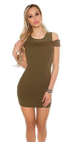 In-Stylefashion - Robe - Dos nu - Femme marron marron clair S/M Marron Clair