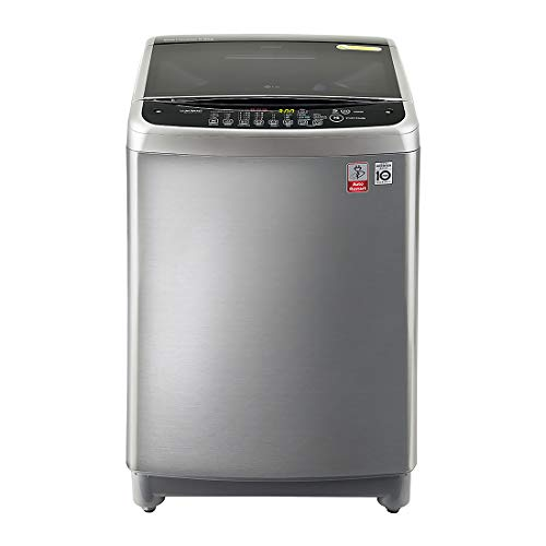 LG 8.0 Kg Inverter Fully-Automatic Top Loading Washing Machine (T9077NEDL5, Free Silver)