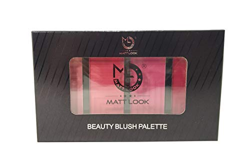 MATT LOOK BEAUTY BLUSH PALETTE (LOVE ME), BY R K STORE NET