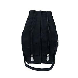 Large Black Washbag for Men