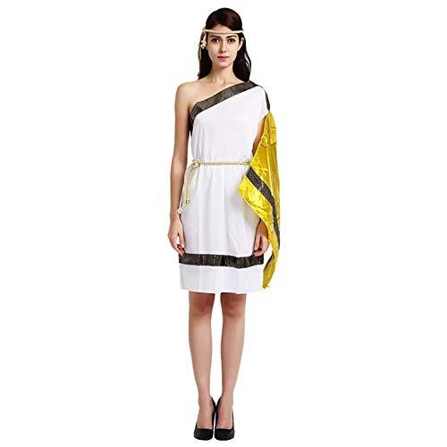 leopatra Ägypten Kostüm-Set für Damen - perfekt für Cosplay, Karneval & Halloween - Einheitsgröße 160-180cm ()