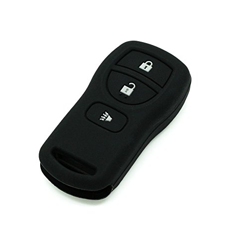 fassport-silicone-cover-skin-jacket-fit-for-nissan-3-button-remote-key-cv3503-black