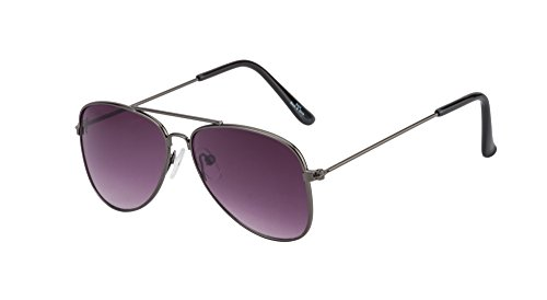 The Blue Pink Uv Protected Aviator Sunglasses For Age Group 4-6 Years Kids (KD-1001 Black Lens)