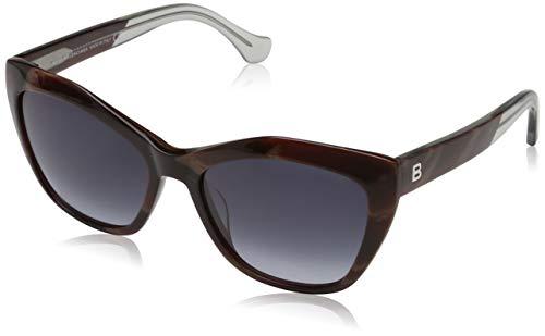 Balenciaga Damen Sunglasses Ba0047 64W-56-17-140 Sonnenbrille, Braun, 58