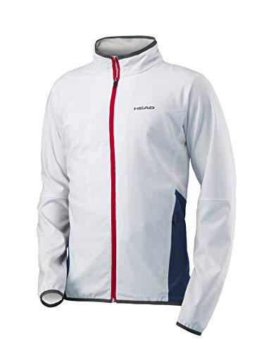 Head - Club Herren Tennisjacke, Weiß, S