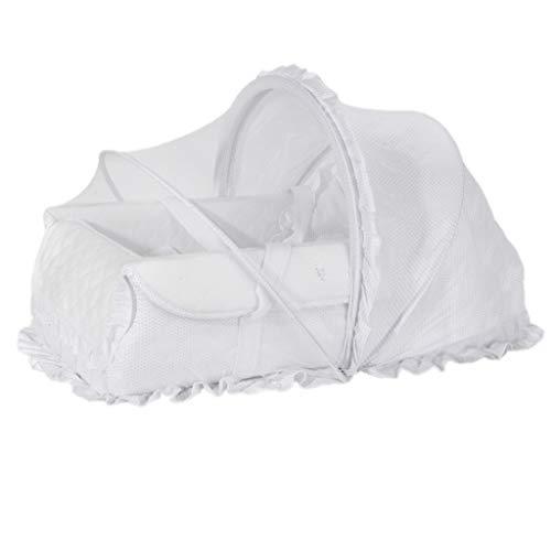 Réducteur de Lit Babynest Lit Portable Babynest avec auvent, nid de câlin pour Le Jeu de bébé Tapis de Jeu pour Tout-Petit, Cadeau de Douche, 75 × 40 × 20 cm (Couleur : Blanc)