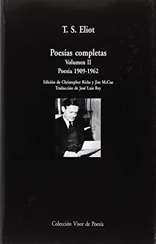 Poesías completas. Poesía 1909-1962 - Volumen 2 (Visor de Poesía Maior)