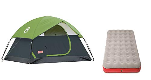 Coleman Sundome 2 Tent, 2 man Camping Tent with Fibreglass poles, 600 mm Water Column