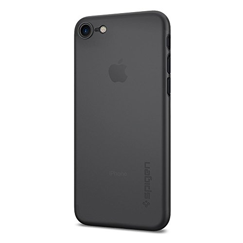 iphone-7-case-spigen-air-skin-ultra-thin-black-premium-semi-transparent-lightweight-exact-fit-no-bul