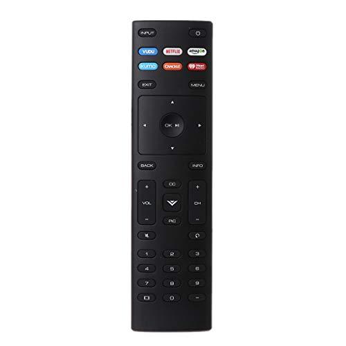 XRT136 Ersatz-Fernbedienung für Vizio Smart TV D24f-F1 D43f-F1 D50f-F1 E43-E2 E60-E3 E75-E1 M65-E0 M75-E1 P55-E1 P65-E1 P75-E1 und mehr (P55 Vizio)
