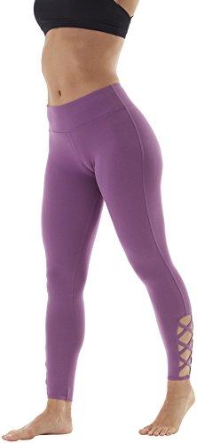 Balance Collection Damen Lexi Fashion Leggings, Concord Grape, S
