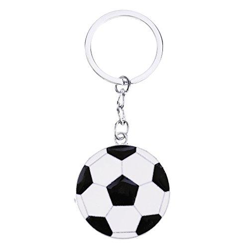 D DOLITY Modernes Fußball Schlüsselanhänger Handtasche Schnalle Kette Weihnachten, Abschlussfeier Geschenk - Fußball