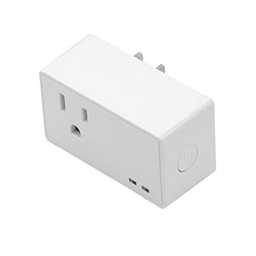 Lee Lam WiFi Smart Plug Remote Outlet Fernbedienung Energieüberwachungsplan und Timer-Funktion Kein Hub erforderlich -