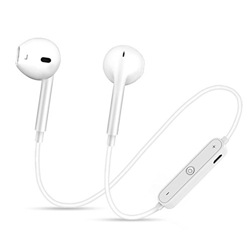 Neue Bluetooth Kopfhörer S6Sports Wasserdicht Kopfhörer Workout Running Geräuschunterdrückung Kopfhörer Apple/Samsung/Meizu/iPad, iPhone 77Plus 6S 6S Plus und Samsung Galaxy S7S8
