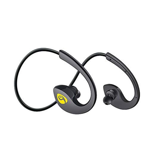 Yowablo Bluetooth Kopfhörer Wasserdicht Wireless Sport Kopfhörer Schweißfest ( Schwarz )