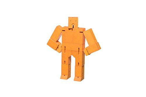 AREAWARE dwc2o klein dwc1Holz Spielzeug–Orange