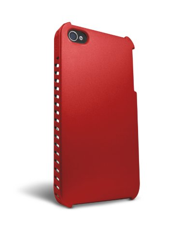 iFrogz Luxe Lean Housse pour iPhone 4G Snow Rouge