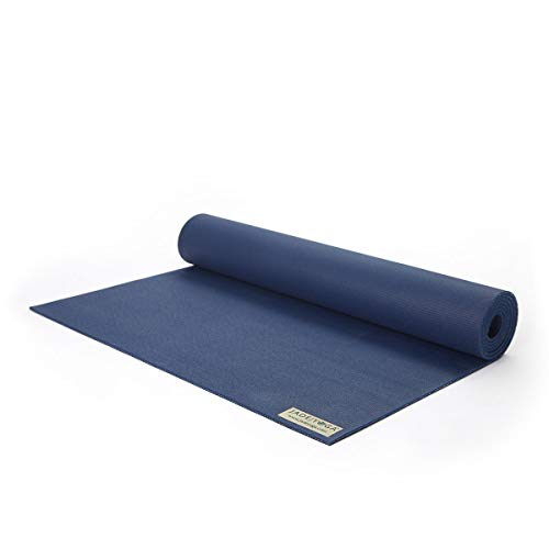 "Jade Harmony Xl 3/16"", 74\"" (5mm, 188cm) Midnight Blue Jade Yoga"