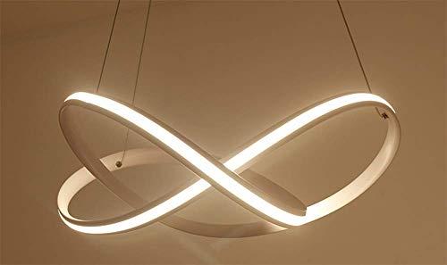 Mtsbw Anillo Araña Lámpara Led De Estar Creativa warmlight Luces Arte Sala Dormitorio Personalidad 5Rq34LcjA