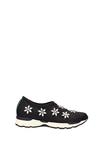 MALDEX03 Schwarz Philippe Damen MALDEX03 Philippe Sneakers Model Stoff Model Schwarz Sneakers qwS6T6