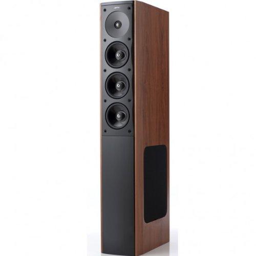Jamo S 608 3-Wege Bass-Reflex Stand-Lautsprecher (150/240 Watt) Dark Apple (Paar)