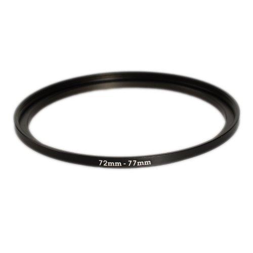 Ares Foto® Step Up Filteradapter Adapter Ring 72mm zu 77mm. CNC-gefrästes Aluminium. Kompatibel mit Objektiven Aller Hersteller: Canon Sony Nikon Fujifilm Olympus Pentax Leica Tamron Sigma 77 Mm Ring