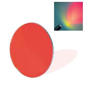 Couleur pour Spot 50 mm-filtre dichroïque en verre Rouge