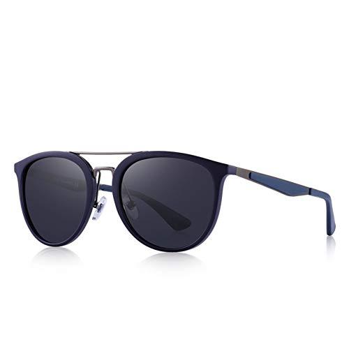 YYHV Männer Retro polarisierte Sonnenbrille-Edelstahl-Brücke Uv400 Unisexsonnenschutz-treibende Glas-Schutzbrillen