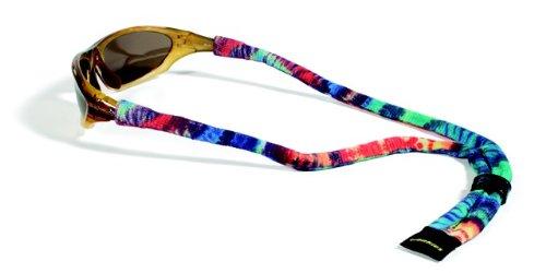 Groovy Cord (Croakies Suiters Eyewear Retainer, Unisex Damen, Tie Dye Groovy Cool, 1 Pack Regular)