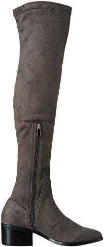 La Strada 909805, Bottes hautes classiques  femme Gris - Grau (2203 - micro grey)