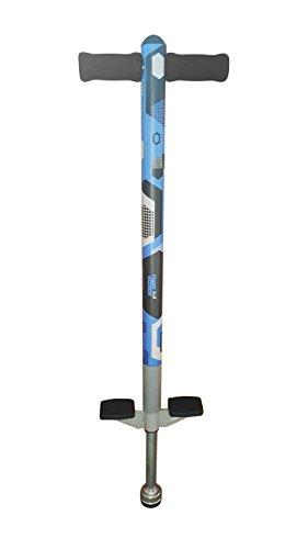 ThinkGizmos Un bâton Sauteur pour Les Enfants - Pogo Aero Advantage - pour Les Enfants Qui Ont 5, 6, 7, 8, 9 et 10 Ans et jusqu'à 36kg - Un Bâton Sauteur de Qualité Très Amusant (Bleu & Noir)