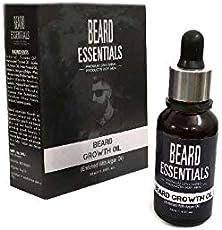 Beard Essentials Natural Moustache & Beard Growth Oil For Men -30ml