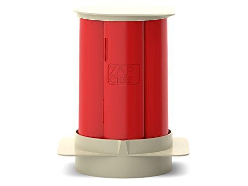Zap Chef Bacon Rack Mikrowelle | Speckbräter für die Microwelle | Alternative zur Zubereitung in der Pfanne oder Backblech | Mikrowellen Kochgeschirr