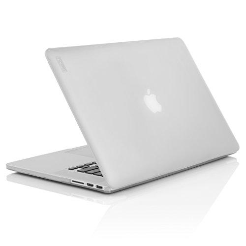 Incipio FEATHER Custodia per MacBook Pro 15 Retina - Nero Traslucido Bianco Ghiaccio