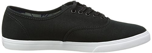 Vans Authentic Lo Pro, Sneakers Basses Mixte Adulte Noir (Indigo Tropical/Black/True White)