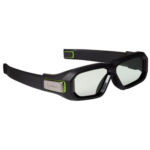 NVIDIA GeForce 3D Vision 2 wireless 3D-Brille (2 Mittelstücke, Tasche, USB 2.0) (Nvidia 3d-brille Wireless)