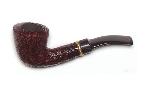 Kit Brebbia prima pipa sabbiata forma 6010 - Bent Dublin con bocchino a sella