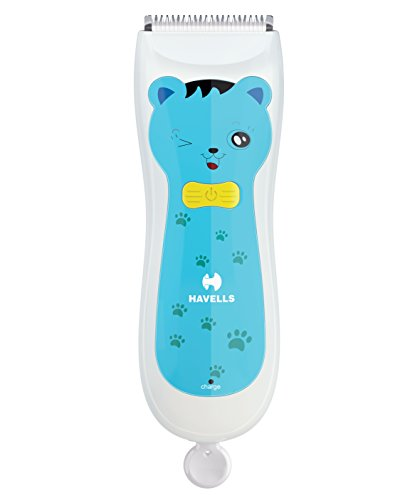 Havells BC1001 Rechargeable Baby Hair Clipper  Blue