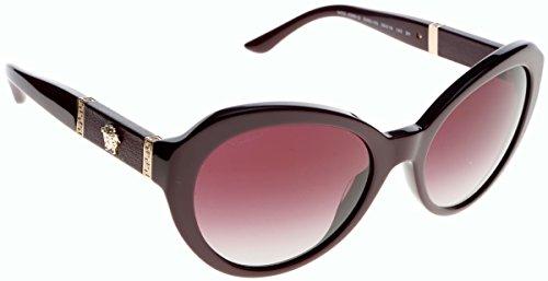 Versace - VE 4306Q,Oeil de chat acétate femme 50664Q: Eggplant