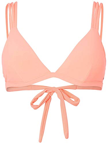 O'Neill Damen PW Sun Mix Bikini Top, Gelb (Neon Peach), 36 -