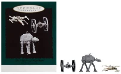 The The The Vehicles of Star Wars Keepsake Ornaments From Hallmark (1996) by Hallmark (English Manual) | Luxuriant Dans La Conception  59f1e3