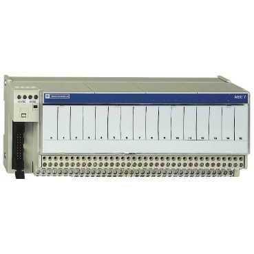 Schneider ABE7R16S111E Klemmenblock m fest eingelöt. elektromech.Relais ABE7, 16 Kanäle, Relais 5mm