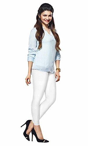 Lux Lyra Women's Ankle Length Leggings, Pack of 2