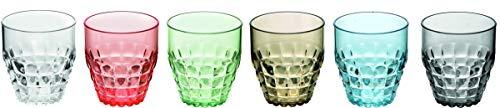 Drinkglazen laag set 6 stuks multi Guzzini 22570252 Tiffany