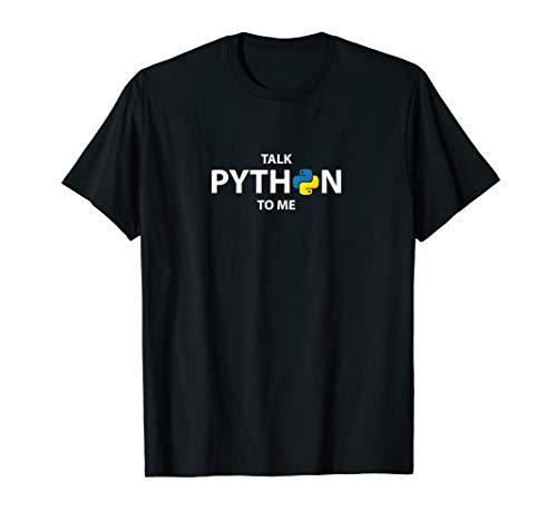 Talk Python To Me Shirt funny Coders Gift Shirt