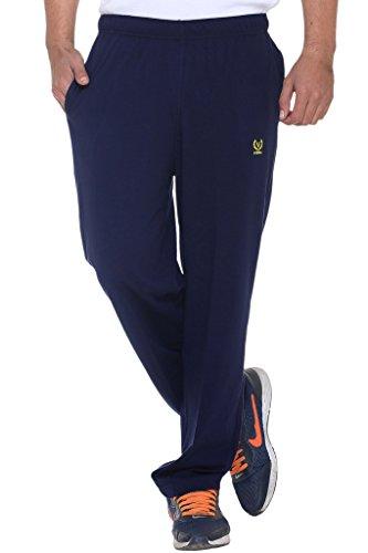 VIMAL Men's Navy Blue Cotton Trackpants