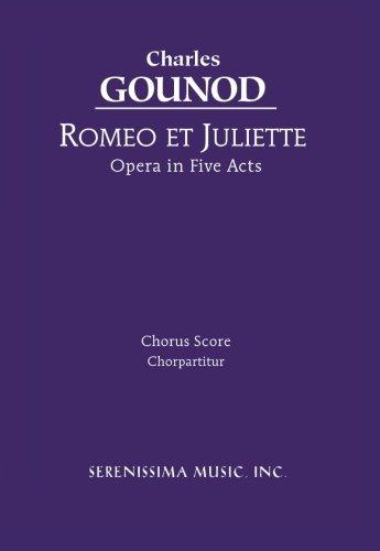 Romeo et Juliette: Chorus score