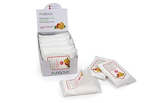 Wipes mit Grapefruit Zitronenduft (Box von insgesamt 120 Feuchttüchern in 12 wiederverschließbaren Beuteln, 10 Tücher pro Beutel) Müllpresse Dunstabzugshaube Werkzeug Babyartikel ()