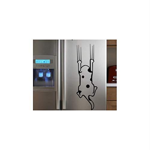 Cmdyz Cartoon Kind Real Kühlschrank Küchenschrank Wandaufkleber Fliesenmöbel Glasaufkleber Rette Mich Cat
